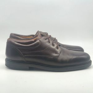 Bert Pulitzer Brown Leather Oxford Shoes size 13